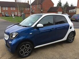 Smart forfour prime premium 0.9 sat nav, touch screen, cruise control