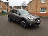 2012 NISAN QASHQAI N-TEC , 12 MONTH MOT, SERVICE HISTORY, MILEAGE 68k, SAT NAV, HPI CLEAR, CRUISE