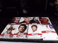 DEXTER complete series 1 to 8 excellent series
