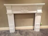 beautifull mahogany fire surround