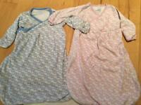 Jo jo maman Bebe newborn sleeved sleep bags