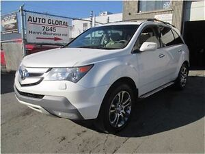 2008 Acura MDX Elite Package,TV-DVD,NAVI,7 PASSAGERS,TOIT OUVRAN