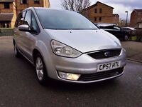 2007 FORD GALAXY 1.8 TDCI DIEEL 6 SPEED MANUAL.145000 MILES , FULL SERVICE HISTORY
