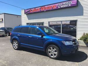 2009 Dodge Journey R/T CLEAN CAR PROOF ALLOY WHEELS LEATHER Windsor Region Ontario image 2