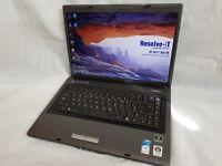 Advent 5401 Laptop. Dual Core CPU, 320gb HDD, 2gb Memory, Windows 7 - 30 Day Warranty