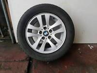 BMW E90 E91 E92 E93 E46 ALLOY WHEEL WITH GOOD TYRE