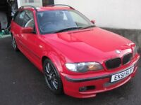 BMW 330d Sport Touring 2001 Very Reliable. 12 months MOT. Mine for last 12 years, 142000 miles