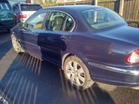 JAGUAR X-TYPE 2.5 SE AWD 4x4 SATNAV LEATHER INTERIOR ALLOY WHEELS SWAP OR CHEAP PART EXCHANGE WHY?