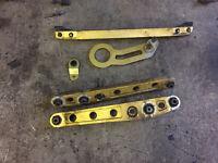 honda civic ek4 vti ej9 ek3 96-00 gold parts lower control arms tow hook beaks bar