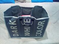 Large Laundry Bag 3x compartments for whites/darks/colours