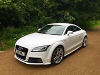 Audi TT 2.0 TFSI (211PS) FASH, 56k miles, S-LINE/White/DRL's