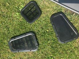 Land Rover Defender radiator grille, headlamp surrounds & bonnet vents