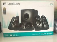 Logitech Z506 pc speakers 5.1 surround sound