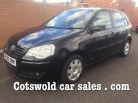 """Volkswagen polo 2006 1.2 sport se """"49000 miles"""" 5 doors immaculate 9 services years no advisorys mot"""