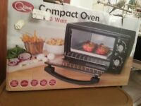 COMPACT OVEN and mini grill BRAND NEW just opened.