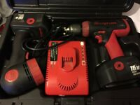 Snap On 18v Cordless Drill & Torch