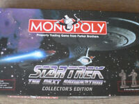 STAR TREK MONOPOLY COLLECTORS EDITION PERFECT CONDITION,MAKE IDEAL GIFT