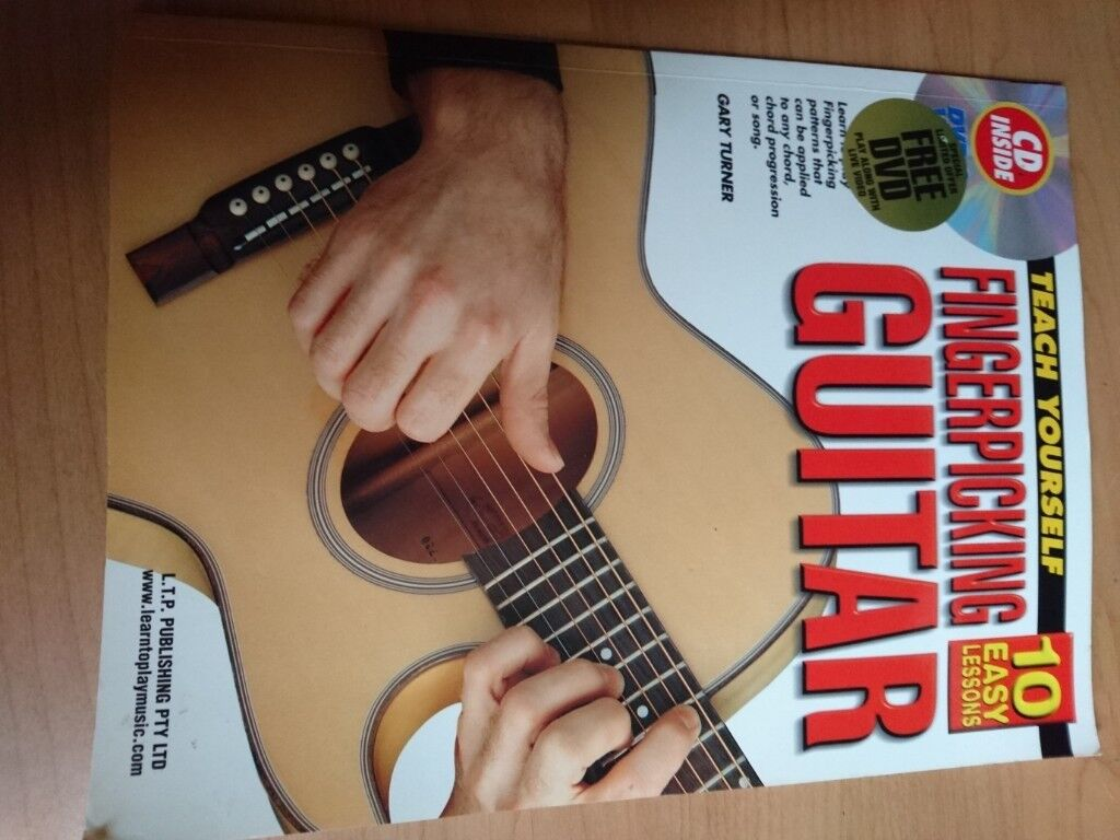 Teach Yourself Fingerpicking Guitar Book With Dvd And Cd In