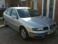 2002 SEAT LEON,1.6 PETROL, 1 OWNER FROM NEW, LOW MILEAGE