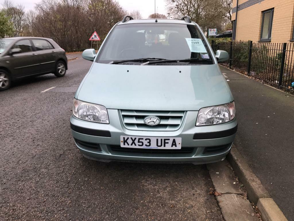 Hyundai Matrix 2003 1.8 Petrol ( Give offers)