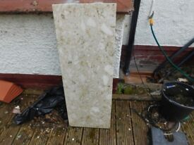 MARBLE HEARTH BASE GOOD CONDITION SIZE 15 X 40 INCHES CAN DELIVER