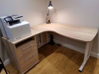 John Lewis Corner Desk (like new with Warranty!)