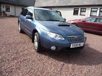 Low Mileage Subaru Outback Diesel 4 x 4 Estate, 12 months MOT