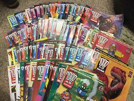 Large Collection of Judge Dredd - 2000AD comics