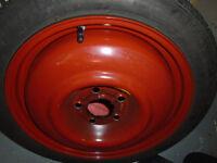 SAAB Spare Wheel. Space saver, never used