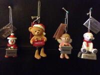 Christmas tree decorations personalised job lot