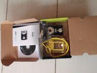 Vivitar camera with waterproof housing