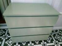 Chest of drawers PALE GREEN