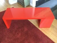 Ikea Red and grey tables