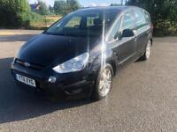 2011 11reg Ford Smax 2.0 Tdci Zetec Black 7 Seater Mpv