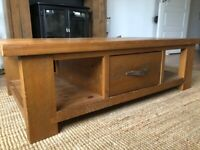 Coffee Table & TV Unit - Solid Wood - Next Home Hartford