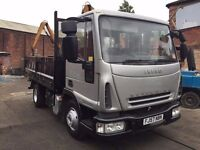 Ford Iveco Euro Cargo 7.5 Ton Tipper