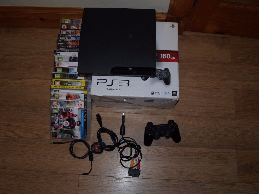 PS3 Boxed complete and Fully Working with 16 games