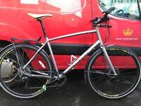 Hybrid Bicycle. Whyte - Whitechapel XL frame size. Fantastic commuter bike.