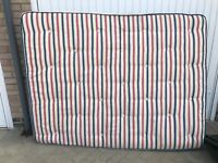 Used, but in good condition branded 5ft mattress