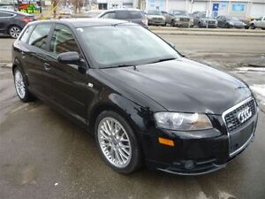 2006 Audi A3 3.2 S Line (DSG) ONLY 59000 KMS!!/LEATHER/AWD/PANO
