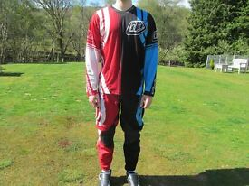 Troy Lee Designs MX/MTB kit Size Medium/Large Mens, Used but in good condition