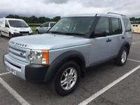 Land Rover Discovery 3 Tdv6 GS (silver) 2007