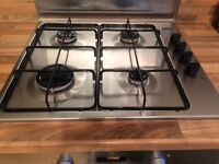Zanussi Gas Hob for sale. £25. Excellent condition. Model ZGG62414. 2 years old.