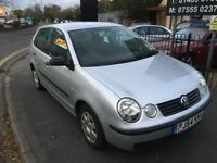 2004 VW VOLKSWAGEN POLO 1.2 TWIST 5DR SILVER HATCHBACK