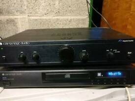 Cambridge audio cd player and amp