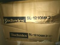 Technics 1210mk2 Quartz direct drive