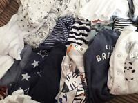 Baby boy clothes 0-3 months £35. Smoke free home.