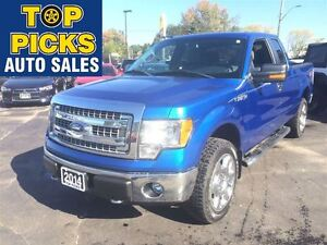 2014 Ford F-150 XLT XTR SUPER CAB, 4X4, 20 WHEELS, 5.0 LITRE V8,