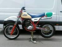 Ktm 250 1982 motocross bike evo not cr crf ktm kx kxf rm rmz yz yzf