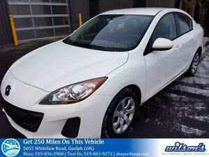2013 Mazda MAZDA3 GX SEDAN! POWER PACKAGE! KEYLESS ENTRY! AIR CO
